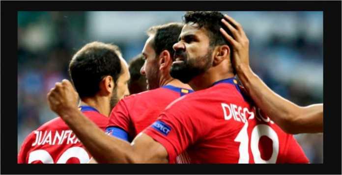 Diego Costa, Gol, Atletico Madrid
