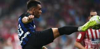 Hasil Atletico Madrid vs Inter Milan, ICC 2018, Lautaro Martinez