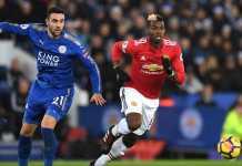 Hasil Liga Inggris, Manchester United vs Leicester City
