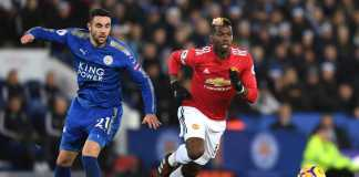 Hasil Liga Inggris, Manchester United vs Leicester City