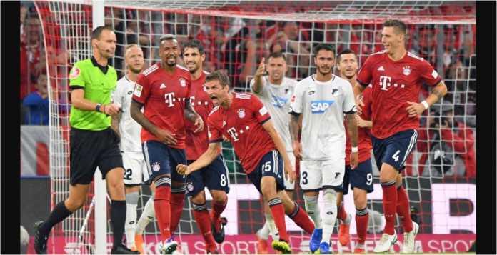 Hasil Liga Jerman, Bayern Munchen vs Hoffenheim