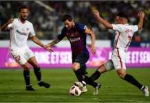 Hasil Piala Super Spanyol, Sevilla, Barcelona