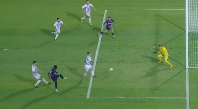 Hasil Real Valladolid vs Barcelona Liga Spanyol