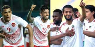 Indonesia vs Uni Emirat Arab Asian Games 2018