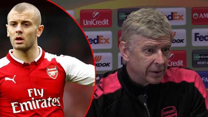Jack Wilshere, Arsene Wenger, Arsenal