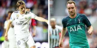 Luka Modric, Christian Eriksen