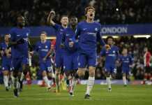 Marcos Alonso, Chelsea, Liga Inggris