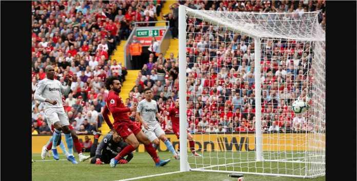 Mohamed Salah, Liverpool, West Ham United