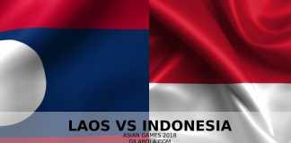 Prediksi Laos vsIndonesia, Asian Games 2018