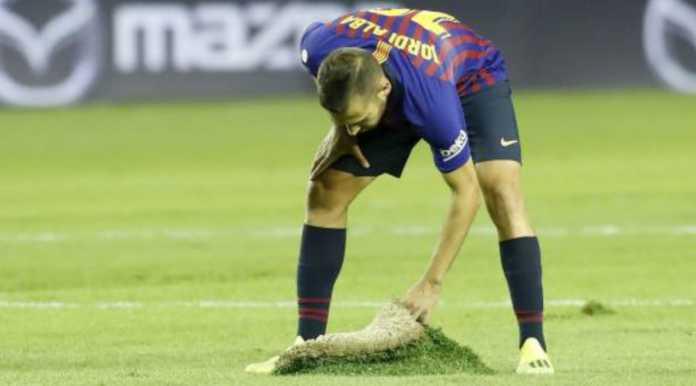 Jordi Alba, Real Valladolid vs Barcelona