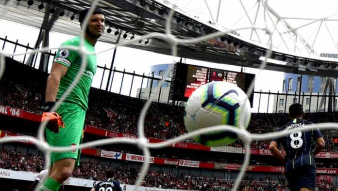 Petr Cech, Arsenal vs Manchester City