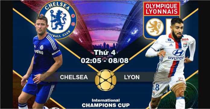 Prediksi Bola, Chelsea vs Lyon, ICC 2018