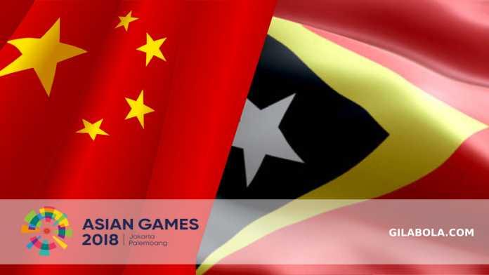 Prediksi Sepakbola Asian Games, China vs Timor Leste