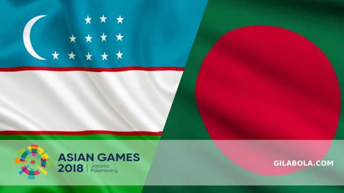 Prediksi Sepakbola Asian Games, Uzbekistan vs Bangladesh