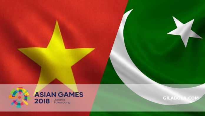 Prediksi Vietnam vs Pakistan, Sepakbola Asian Games 2018