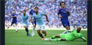 Video Cuplikan Gol Chelsea vs Manchester City, Community Shield