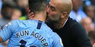 Sergio Aguero, Pep Guardiola, Manchester City