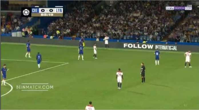 Video Cuplikan Gol Chelsea vs Lyon, ICC 2018