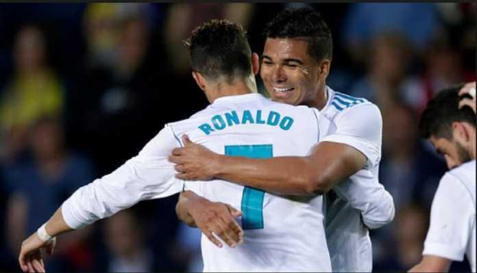 Berita Bola, Casemiro, Luka Modric, Cristiano Ronaldo, Real Madrid