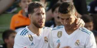 Berita Bola, Real Madrid, Sergio Ramos, Cristiano Ronaldo