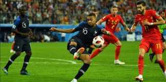 Peringkat FIFA, Timnas Belgia, Timnas Prancis