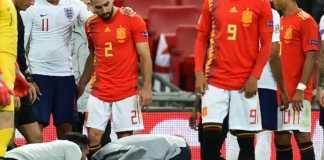 Berita Bola, Timnas Inggris, Timnas Spanyol, Luke Shaw