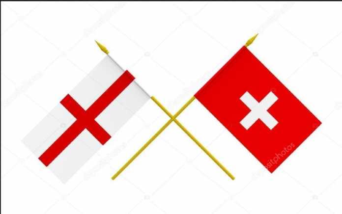 Berita Bola, Timnas Inggris, Timnas Swiss
