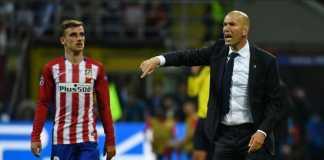Berita Bola, Zinedine Zidane, Manchester United, Antoine Griezmann