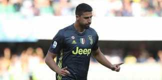 Juventus vs Valencia, Sami Khedira