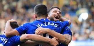 Berita Liga Inggris, Chelsea, Alvaro Morata, Olivier Giroud, Maurizio Sarri