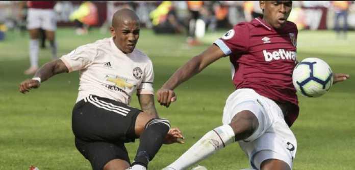 Berita Liga Inggris, Manchester United, West Ham United, Ashley Young
