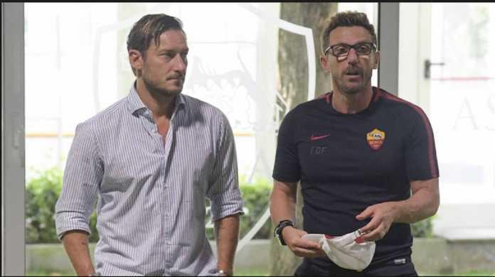 Berita Liga Italia, AS Roma, Eusebio Di Francesco, Francesco Totti