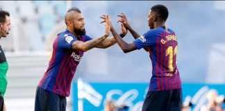 Berita Liga Spanyol, Barcelona, Real Sociedad, Arturo Vidal
