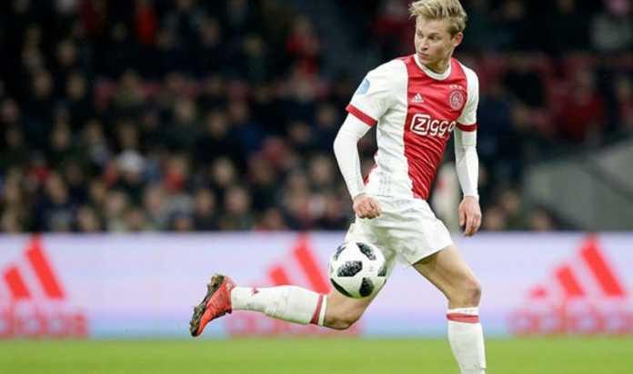 Berita Transfer, Ajax, Real Madrid, Frenkie De Jong