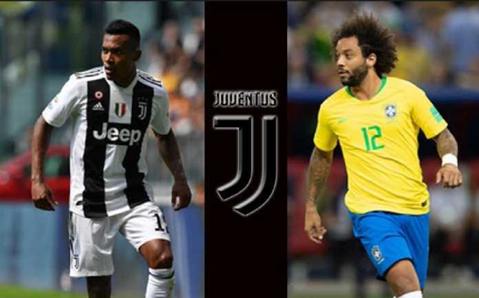 Berita Transfer, Real Madrid, Juventus, Alex Sandro, Marcelo