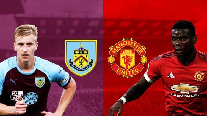 Burnley vs Manchester United, Liga Inggris