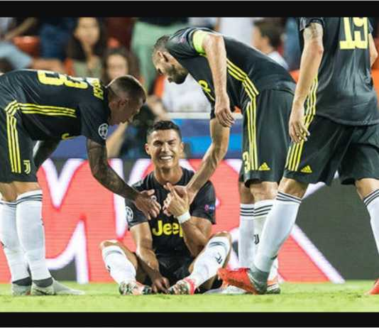Cristiano Ronaldo, Juventus, Kartu Merah