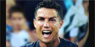 Cristiano Ronaldo, Kartu Merah, Valencia vs Juventus