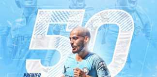 David Silva, Manchester City vs Fulham United