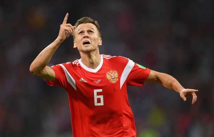 Denis Cheryshev, Turki vs Rusia