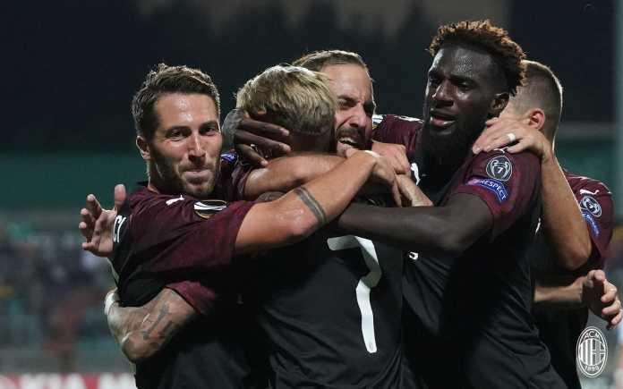 Hasil Dudelange vs AC Milan, Liga Europa