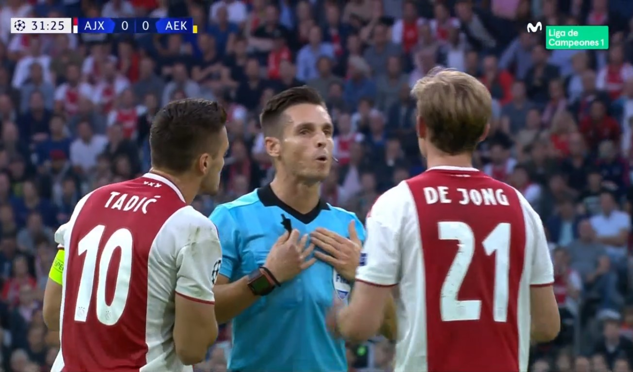 Hasil Ajax Amsterdam Vs Aek Athens Skor Akhir 3 0