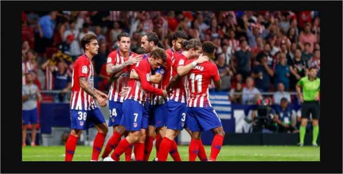 Hasil Atletico Madrid vs Huesca, Liga Spanyol