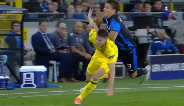 Hasil Club Brugge Vs Borussia Dortmund Skor Akhir 0 1