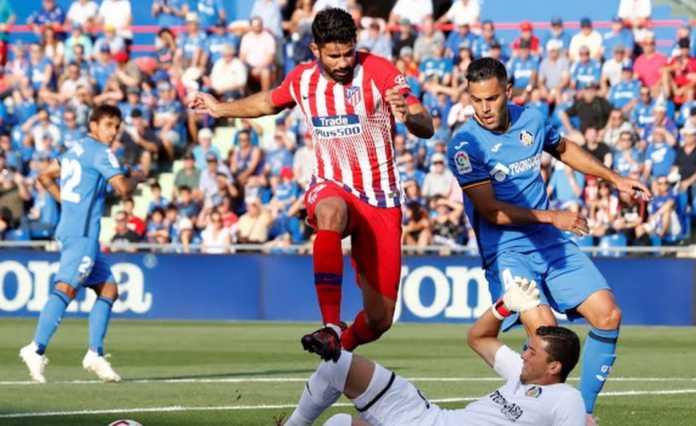 Pertandingan antara Getafe vs Atletico Madrid di laga lanjutan Liga Spanyol penuh drama, mulai dari gol bunuh diri hingga kartu merah.