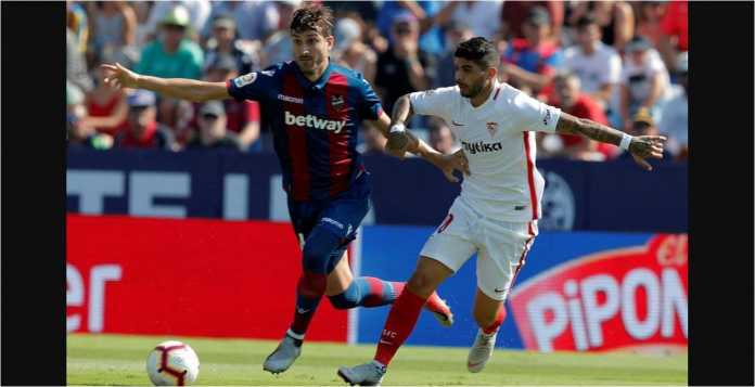 Hasil Levante vs Sevilla, Liga Spanyol
