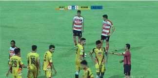 Hasil Liga 1 Indonesia, Madura United, Mitra Kukar