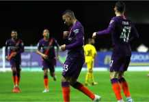 Hasil Oxford United vs Manchester City, EFL Cup