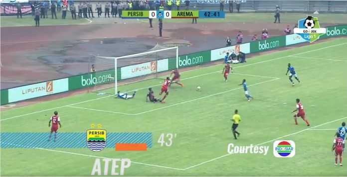 Hasil Persib Bandung vs Arema FC, Liga 1 Indonesia