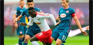 Hasil RB Leipzig vs Duesseldorf
